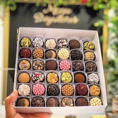 Mary's Brigadeiro Chocolate, Black owned business, Canadian gourmet chocolate, Brazilian traditions, Online and Toronto Storefront