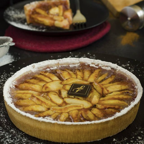 Pies and Tarts from Les Moulins La Fayette in Ottawa, Hintonburg bakery selling handmade pies and goods, apple pie Ottawa, tarts and quiche
