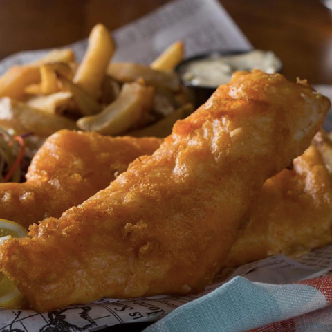 Homemade beer battered fish n' chips in Ottawa, D'arcy McGees Ottawa's Irish pub chain with pub food and seafood, slainte! Traditional food in Ottawa