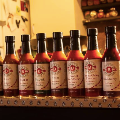 Saucy B Sauces, Ottawa Ontario made hot sauce brand, local hot sauce with fresh ingredients and no preservatives, where to find hot sauce in Ottawa, Canadian hot sauce