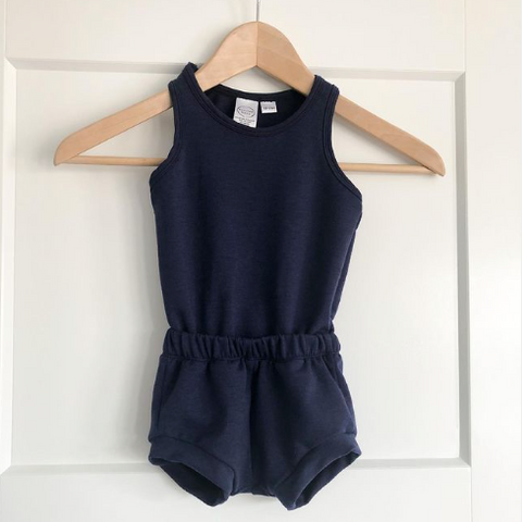 Everlee Baby kids brand in Ottawa, summer romper for girls and boys, Canadian made clothing for children, handmade clothes in Ottawa, children's apparel brands, spring line of kids clothing