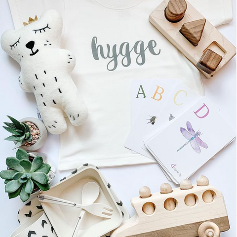 The Hygge Baby Inc, locally sourced toys and gifts for babies and toddlers, children's subscription box with Canadian made items, Montessori inspired and developmental gifts for children, gender neutral toys and gifts for kids, Ottawa kids