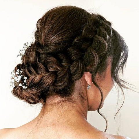 Pinned Bridal hair, On location hair services Ottawa, Ottawa bridal hair specialist, hairstylists in Ottawa, bridal updos & formal hair styling Ottawa, Ottawa hairstylist for your wedding, Ottawa engagement hair, Ottawa bride hairstyles, Ottawa wedding vendors for beauty