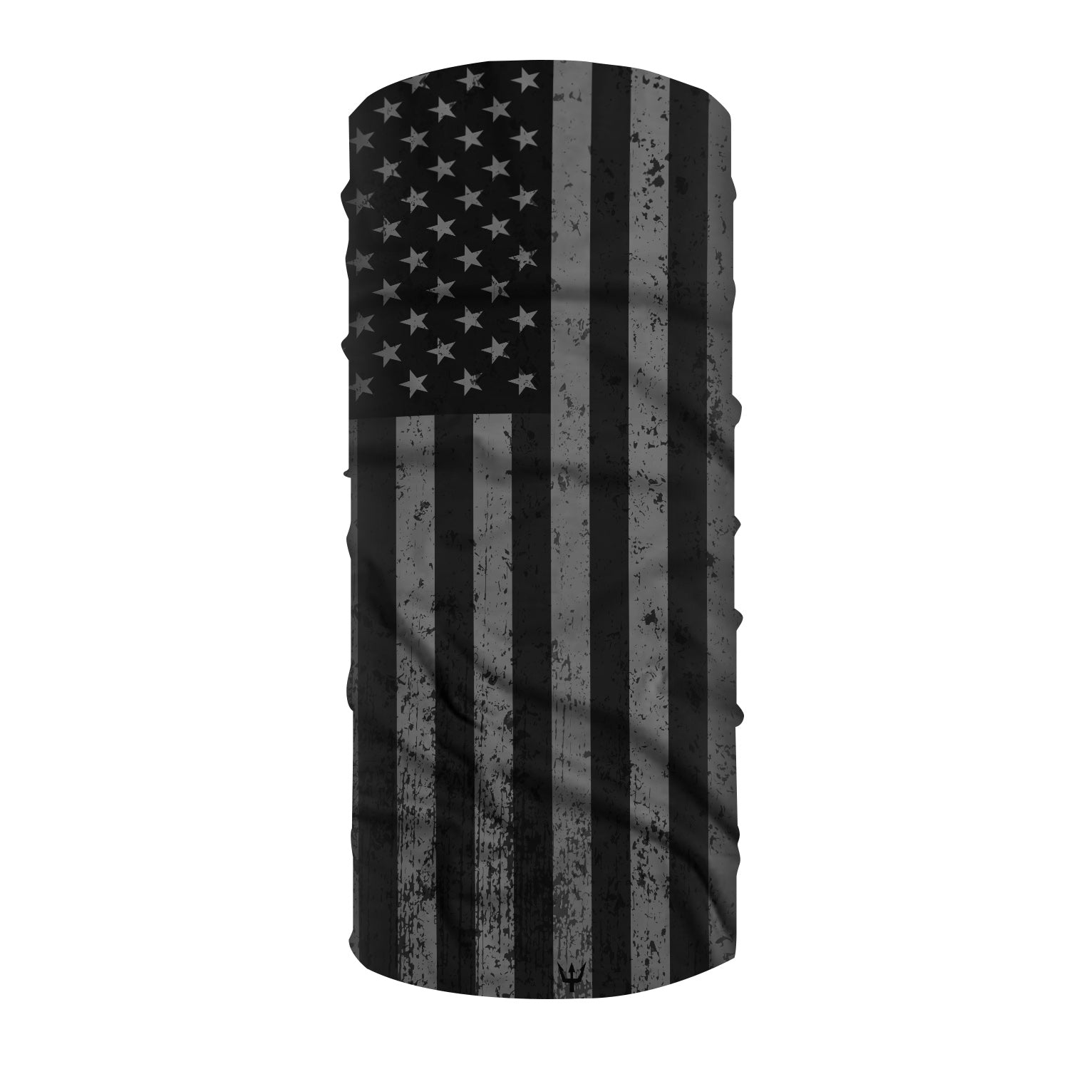 Waterman's Wear Blackout American Flag Face Mask UPF50 MADE IN THE USA