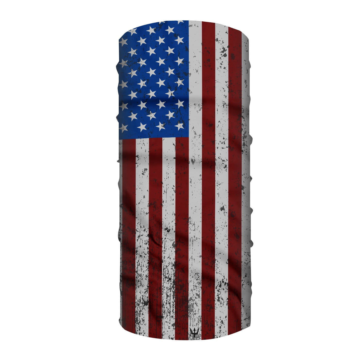 Waterman's Wear American Flag Face Mask UPF50