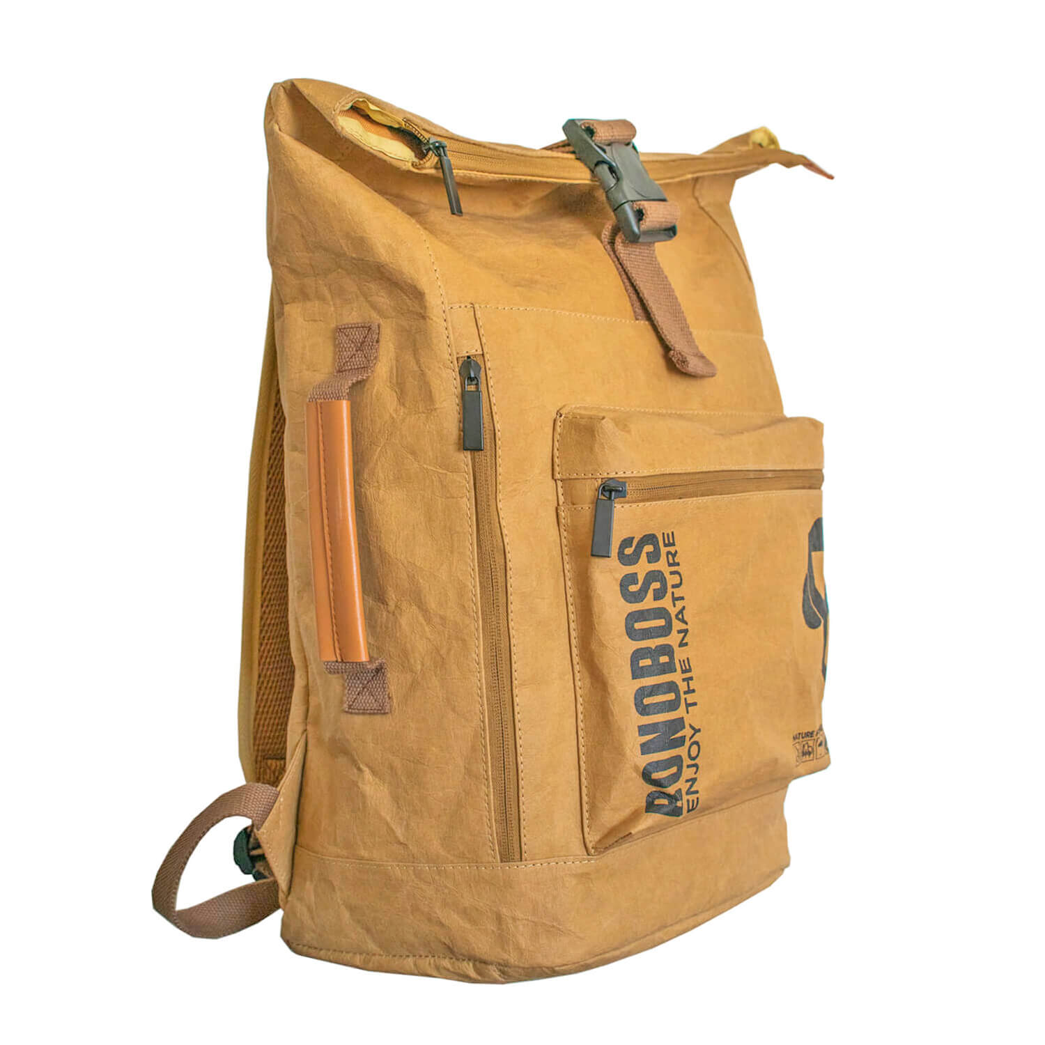 Mochila Papel Sustentable Mountain Ocre