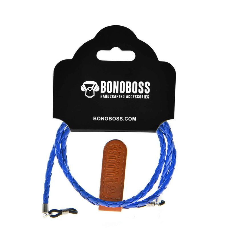 Blue Braided Lens Strap