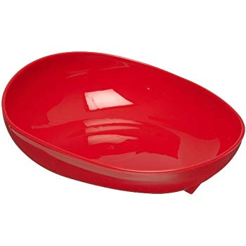 Scooper Dish with Non Skid Base (Skidtrol)
