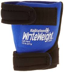 Abilitations Child Size Write Weight, Left Hand (227g) - Sensory Corner