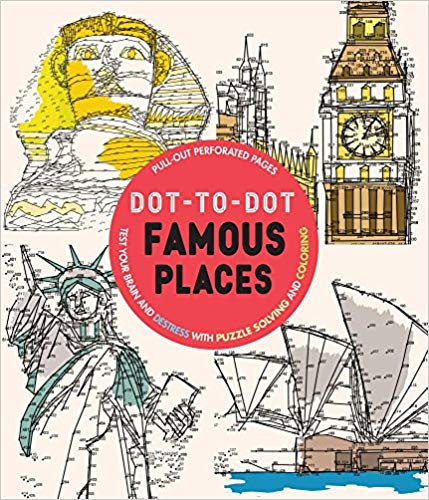 Adult- Famous Places Dot-to-Dot - Sensory Corner