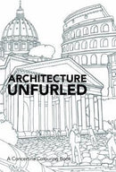 Architecture Unfurled (Adult Colouring)