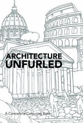 Architecture Unfurled (Adult Colouring) - Sensory Corner