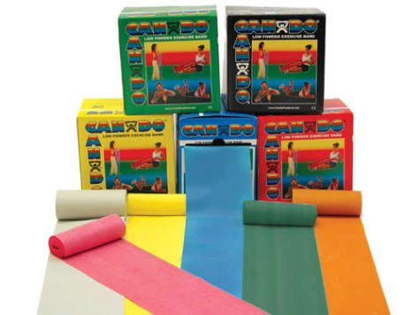 Exercise Bands - No Latex  (1.2m) (Set of 5) - Sensory Corner