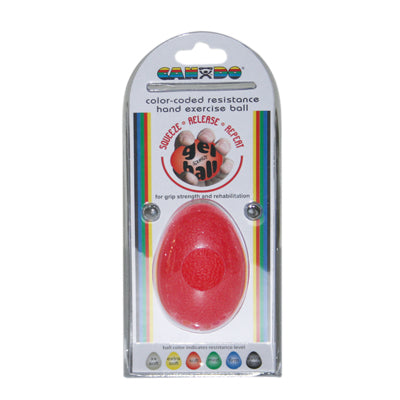 Egg-Shaped Gel Ball (Red)
