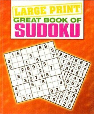 Large Print Great Book of Sudoku - Sensory Corner