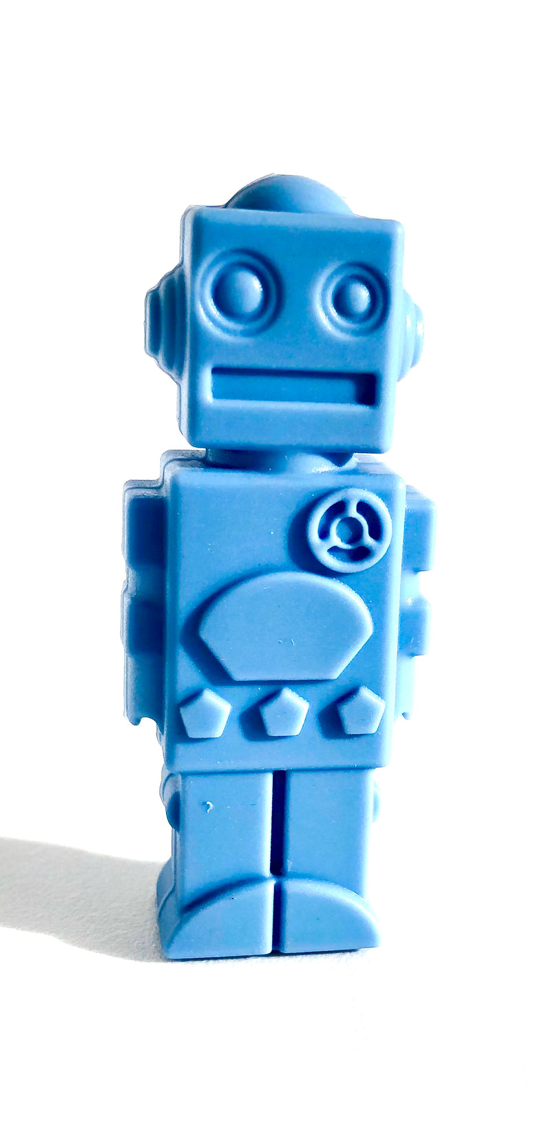Robot Chewable Pencil Toppers (Set 3)