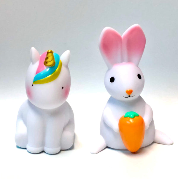 Rabbit and Unicorn Night Lights