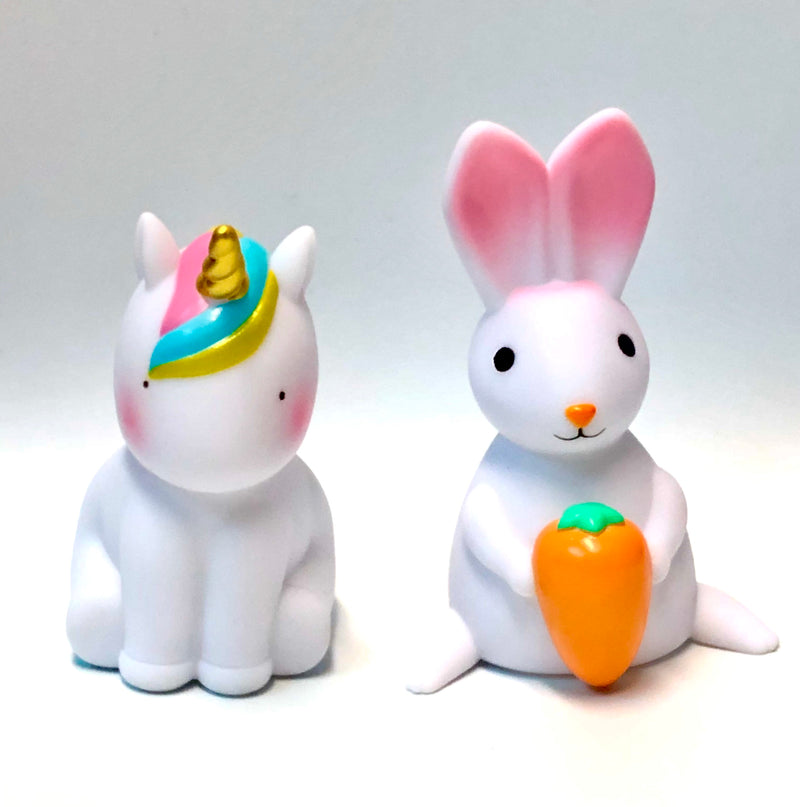 Rabbit and Unicorn Night Lights - Sensory Corner