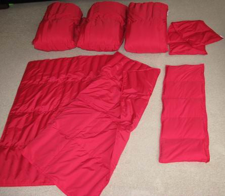 Light Weight Blankets Only - Sensory Corner
