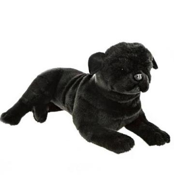 Weighted Dog (Pug 1.5kg Black) - Sensory Corner