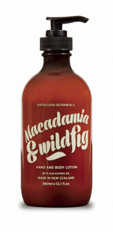 Macadamia & Wildfig Hand & Body Lotion