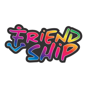 FRIENDSHIP ENAMEL PIN