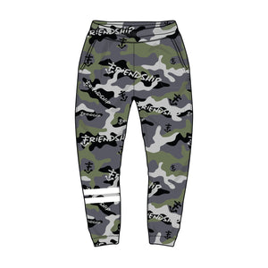 TRACK PANTS (FRIENDSHIP CAMO)