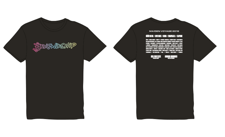 2018 Friendship Lineup Tee