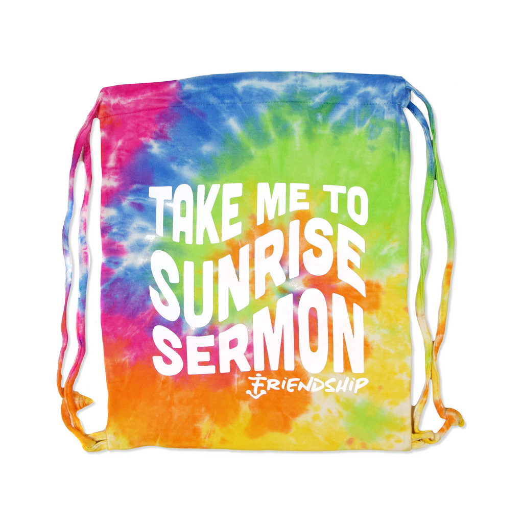 Sunrise Sermon Tie Dye Drawstring