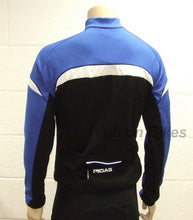 Load image into Gallery viewer, MIDAS Long Sleeve Winter Cycling Jersey Top - Blue