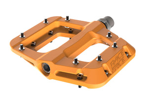 Race Face Chester Composite Flat Platform Pedals - Orange