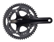 Load image into Gallery viewer, Shimano 105 5750 10s Double Road Bike Crankset - Black