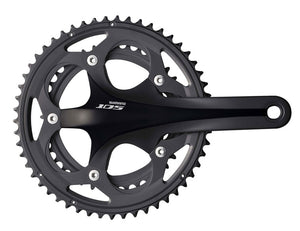 Shimano 105 5750 10s Double Road Bike Crankset - Black