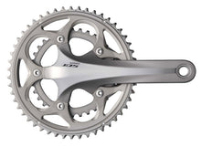 Load image into Gallery viewer, Shimano 105 5750 10s Double Road Bike Crankset - Silver