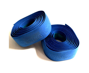 Silva Cork - Gel Embossed Handlebar Tape - Blue