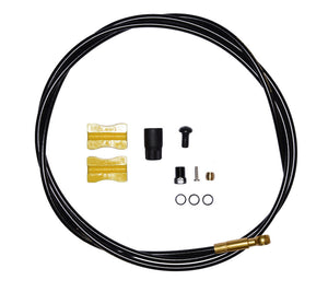 Shimano SM-BH90 Brake Hose for Saint M820 - FRONT - 1000mm - Black / Gold