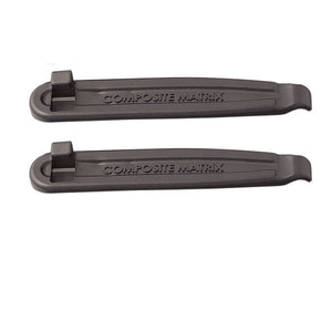 Lezyne Power Lever MTB / Road Bike Tyre Levers - 2 Pack  - Black