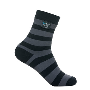 DexShell Bamboo Ultralite Socks - Waterproof - DS643 - Black / Grey