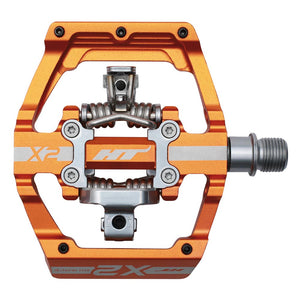 HT Components X2 - DH Clipless Pedals - Orange