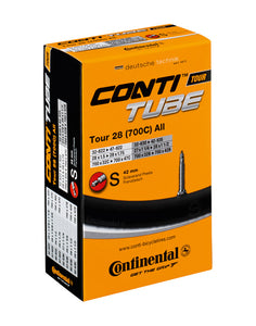 Continental Tour 28 All Road Bike Inner Tube 700c x 32-47 Presta - 42mm