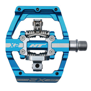 HT Components X2 - DH Clipless Pedals - Blue