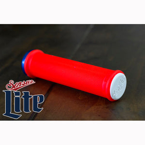 Sensus Swayze LITE - Lock-On Grips - Red
