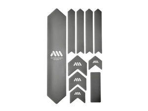 AMS Honeycomb Frame Guard - XL-Silver