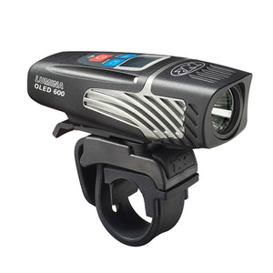 NiteRider Lumina 600 - OLED - USB Rechargeable - LED Front Bike Light