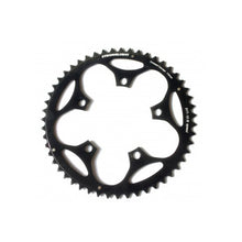 Load image into Gallery viewer, Stronglight Dural 5083 Outer Double Chainring Shimano 9/10 Speed - Black