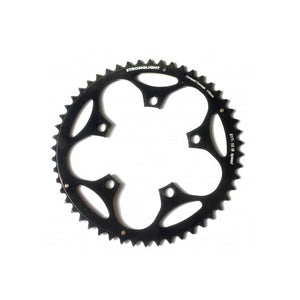 Stronglight Dural 5083 Outer Double Chainring Shimano 9/10 Speed - Black
