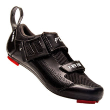 Load image into Gallery viewer, FLR F-121- Triathlon Bike Cycling Shoes - Black