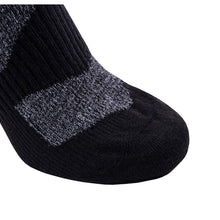 Load image into Gallery viewer, SealSkinz Walking Thin Socklet - Grey / Black