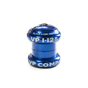 "VP Components A69AC - Alloy Bike Headset - 1 1/8"" - Blue"