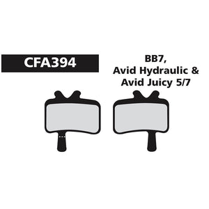 EBC - CFA394 - Green - Avid BB 7 Juicy 5/7 Disc Brake Pads